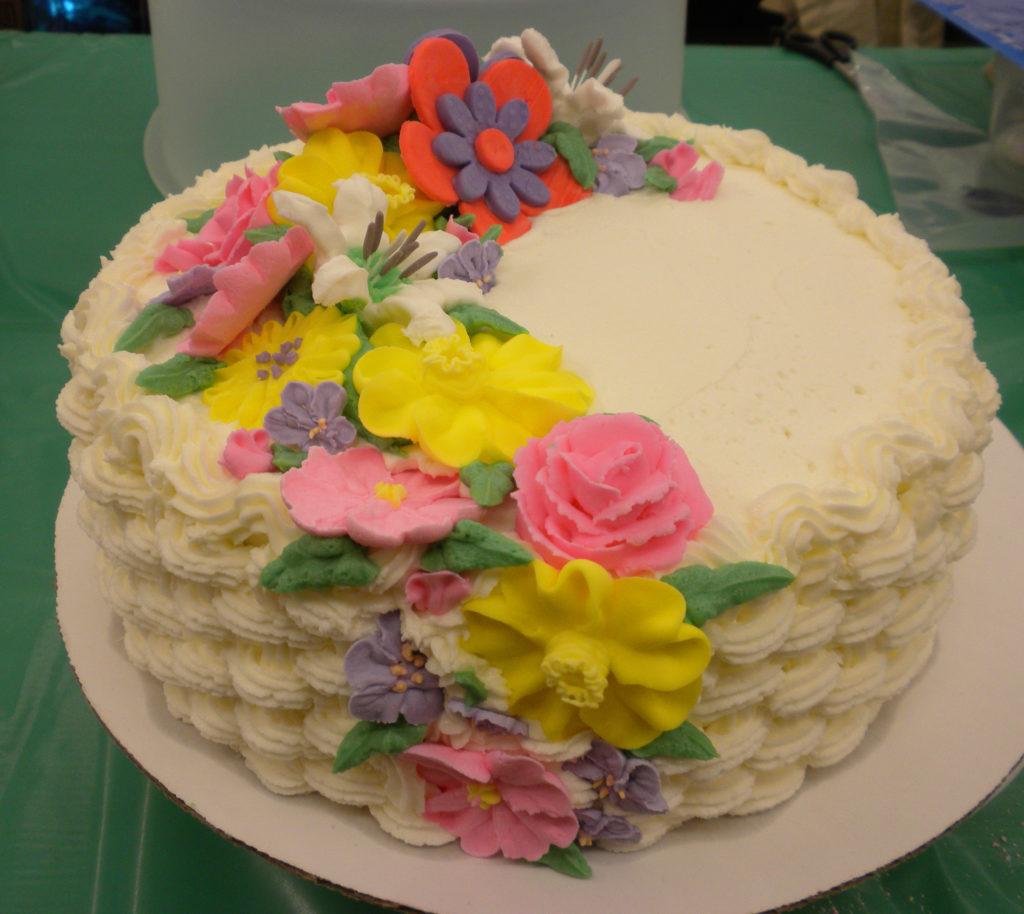 Sample cake.